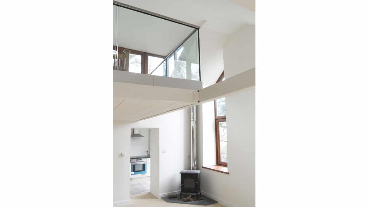 internal photo of architectural feature in house in constatine falmouth